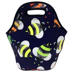 Amazon.com: Casewee Lunch Bag Waterproof Picnic Tote Insulated Cooler Zipper Box Storage Bag Lunch box Food Bag Gourmet Handbag For School work Office (Honeybee): Kitchen & Dining