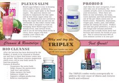 Tri Plex Combo is the best way to get your gut healthy!  Let me help you get started on the road to a healthier life.
