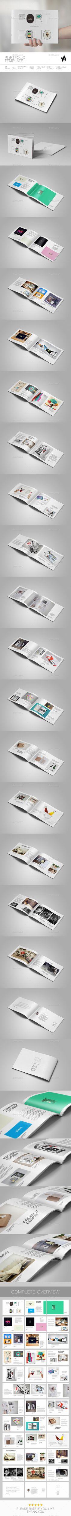 Interior Design Portfolio Template | Interiores, Folletos y Carteras ...