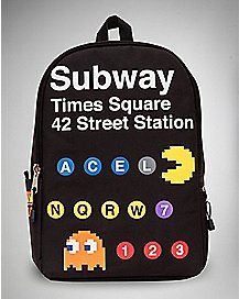 Subway Pacman Backpack