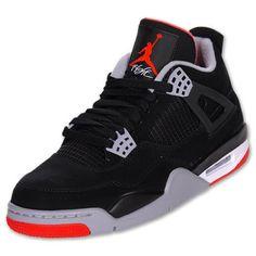 44515060730 Air Jordan 4 IV Retro Black Red 2012
