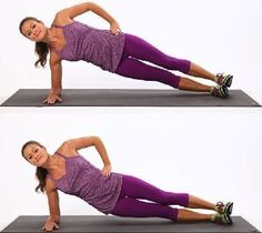Have you been struggling to get rid of that side fat but are unable to? Do you wonder what kind of exercises can help you remove side fat quickly and effectively? Side fat does look very unappealin… Side Plank Dips, Side Fat Workout, Waist Workout, Plank Workout, Dumbbell Workout, Academia Fitness, Hips Dips, Workout Bauch, Fitness Inspiration