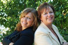 Tricia & Caroline my 110 Degree Magazine Girls!!