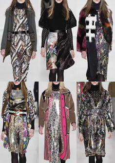 New York Fashion Week – Autumn/Winter 2014/2015 – Print Highlights – Part 3 catwalks