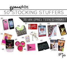 stocking stuffer ideas for (pre)teen gymnasts!