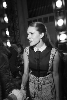 Allison Williams #NYFW