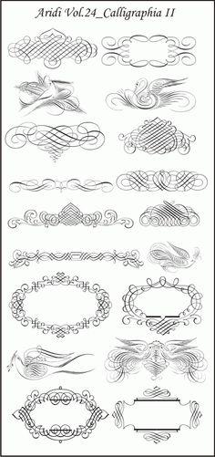 Vintage Floral Border Pattern Flowers Vector Ornamental Design ...