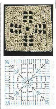 Transcendent Crochet a Solid Granny Square Ideas. Inconceivable Crochet a Solid Granny Square Ideas. Granny Square Crochet Pattern, Crochet Blocks, Crochet Diagram, Crochet Chart, Crochet Squares, Crochet Granny, Crochet Motif, Crochet Flower, Granny Squares