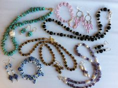 So many to choose from, by the Cleveland Bead Company! An Avant-Garde Art & Craft Show Vendor!