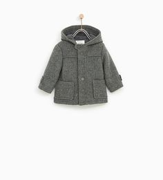 HOODED CLOTH COAT-NEW IN-BABY BOY | 3 months - 4 years-KIDS | ZARA United States