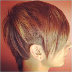 Most gorgeous undercut on the planet... my goal if I can just hang on to my hair!