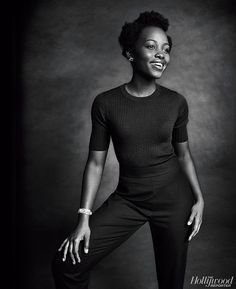 """accras: """" Lupita Nyong'o in The Hollywood Reporter's Tonys Actress Roundtable. Black Is Beautiful, Beautiful People, Beautiful Women, Ebony Models, Lupita Nyongo, The Hollywood Reporter, African Beauty, Celebs, Celebrities"""