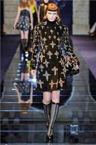 Sfilata Versace Milano - Collezioni Autunno Inverno 2012-13 - Vogue