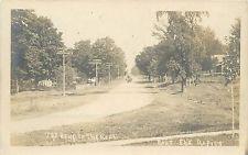 """The Bend In The Road"" East Elk Rapids MI Real Photo Postcard"