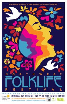 Northwest Folklife Festival - an annual nonprofit music fest Memorial Day weekend at Seattle center