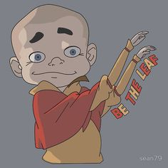 Meelo from Avatar The Legend of Korra, Aang's grandson if you couldnt tell xP