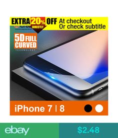 Screen protectors ebay phones accessories screen protectors crazy 5d full cover curved tempered glass screen protector for iphone x 7 8 fandeluxe Images