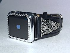 38mm or 42mm Apple Watch Band with Crystal by CRYSTALandBLING
