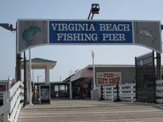 Virginia Beach....I love this pier. we have actually stayed here when we took the yacht here a few years ago. it was awesome!