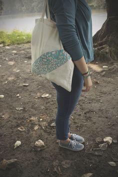 tote bag/triangle