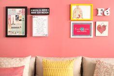 Nós aMMMamos: Conjunto de quadros na parede ♥