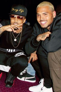 August Alsina and Chris Brown