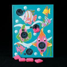 Tropical Fish Bean Bag Toss Game - OrientalTrading.com
