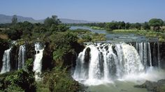 Take a look at the monumental Blue Nile Falls in Ethiopia! It doesn't look blue or blueish. May U have 2 look @ it @ sunrise/sunset. Either way it's a beautiful site! Beautiful Sites, Beautiful World, Beautiful Places, The Places Youll Go, Places To Go, May Bay, Need A Vacation, Felder, Travel Channel