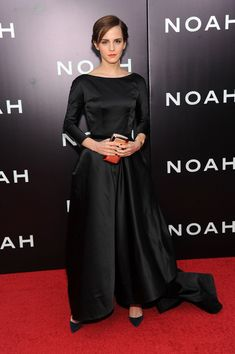 Emma Watson Photos Photos - Actress Emma Watson attends the 'Noah' New York premiere at Ziegfeld Theatre on March 26, 2014 in New York City. - 'Noah' Premieres in NYC — Part 3