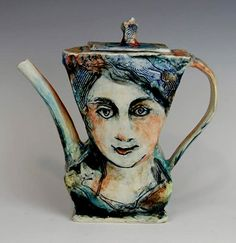 Laurie Shaman art teapot