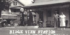 The Ridge View gas station located at the junction of US 50 & SR 450 west of Shoals, Indiana is gone but the house on the hill behind is still there and looks the same. Martin County, Family Roots, Gas Station, Indiana, Camping, History, Sweet, House, Campsite