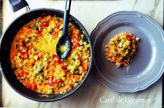 caril de legumes