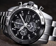 2012 Seiko Sportura, Seiko Watches, Breitling, Chronograph, Omega Watch, Gabriel, Mood, Bracelet, Beautiful