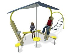 Encounter Playground Seating for Teenagers