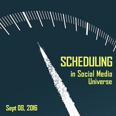 Scheduling on Social Media http://webpromo.expert/scheduling-on-social-media/