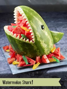 watermelon shark- from http://www.watermelon.org/Carvings/Shark-30.aspx