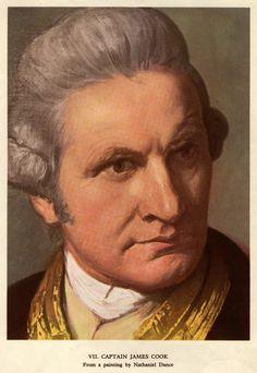 Captain James Cook (1728-1779) Explorer, Cartographer, Navigator