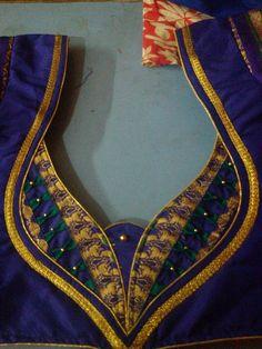 20 latest blouse back neck designs that you should try - Kurti Blouse New Saree Blouse Designs, Patch Work Blouse Designs, Simple Blouse Designs, Blouse Back Neck Designs, Neckline Designs, Stylish Blouse Design, Churidar Neck Designs, Salwar Designs, Designer Blouse Patterns
