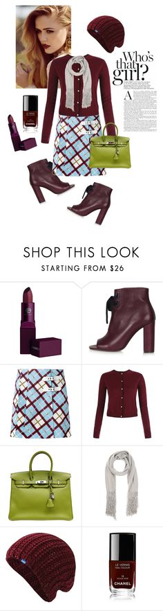 """""""Untitled #29"""" by felicia-mcdonnell ❤ liked on Polyvore featuring Lipstick Queen, Topshop, Marc by Marc Jacobs, Hermès, ONLY, Keds, Chanel, birkin and polyvorecommunity"""