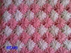 Leaf and Diamond Crochet Stitch - instruction not available at this site.
