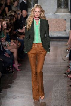 The '70s were a major influence on the runway this season. See the top 15 trends in our Spring 2015 trend report here.