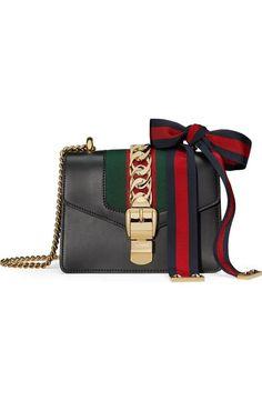 7ef193ebc363 26 Best Gucci Sylvie Leather Bag 2017 images | Leather shoulder bag, Leather  bags, Bags 2017