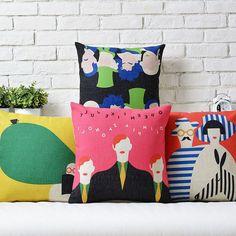 Decoratieve moderne sierkussen covers gedrukt kussen home decor/fronha de travesseiros in               Wil je een nieuwe look voor uw ruimte??    Ik geloof van kussenhoes op AliExpress.com | Alibaba Groep