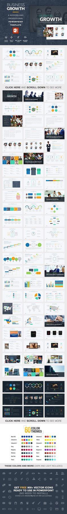 3 beautiful powerpoint templates free via goanimates video business growth powerpoint template business infographic 1500 toneelgroepblik Image collections