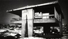 """Скай Дом (Sky House) или """"«Дом одной комнаты"""" в Японии от Kiyonori Kikutake."""