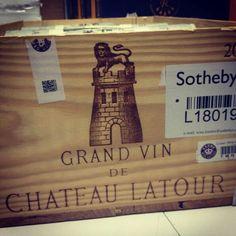 ^o^ Red Wine Drinks, Chateau Latour, Wine