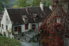 Gargilesse, France - What to see: - The castle - The Romanesque church - George Sand's house - The creperie