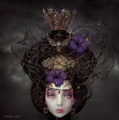 Ghostly Winds by Natalie Shau by GFR , via Behance