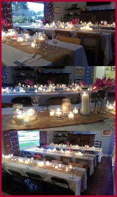 Great Idea For Large Dinner Party In The Garage Cool