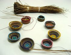 In this introductory class, students will learn how to create colorful coiled baskets, using pine needles, waxed linen, seed beads...
